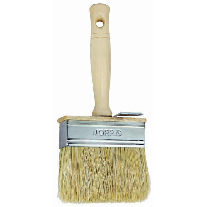 Item-0025-CEILING PAINT BRUSH WITH WOODEN HANDLE A55