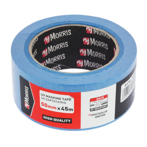 Item-0061-MASKING PAPER TAPE BLUE 14 DAYS-UV