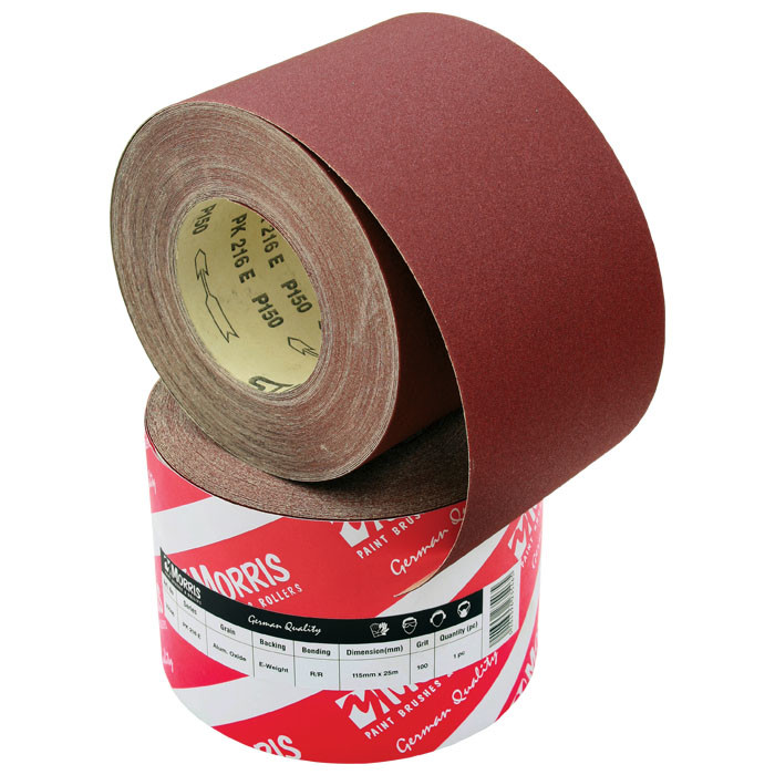 Item-0107-ABRASIVE RED ROLL 115mm x 25m ( AΡ 310F)