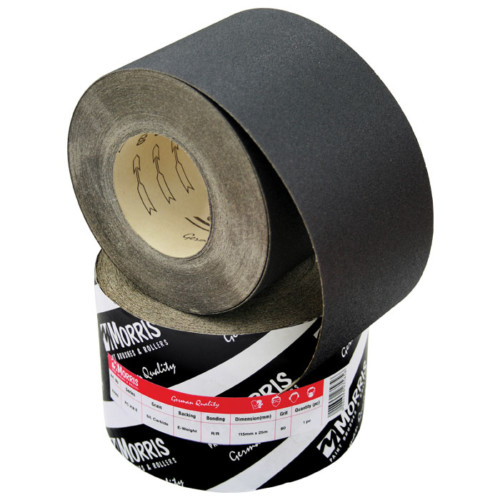 Item-0109-ABRASIVE BLACK ROLL  115mm x 25m (SP 310F)