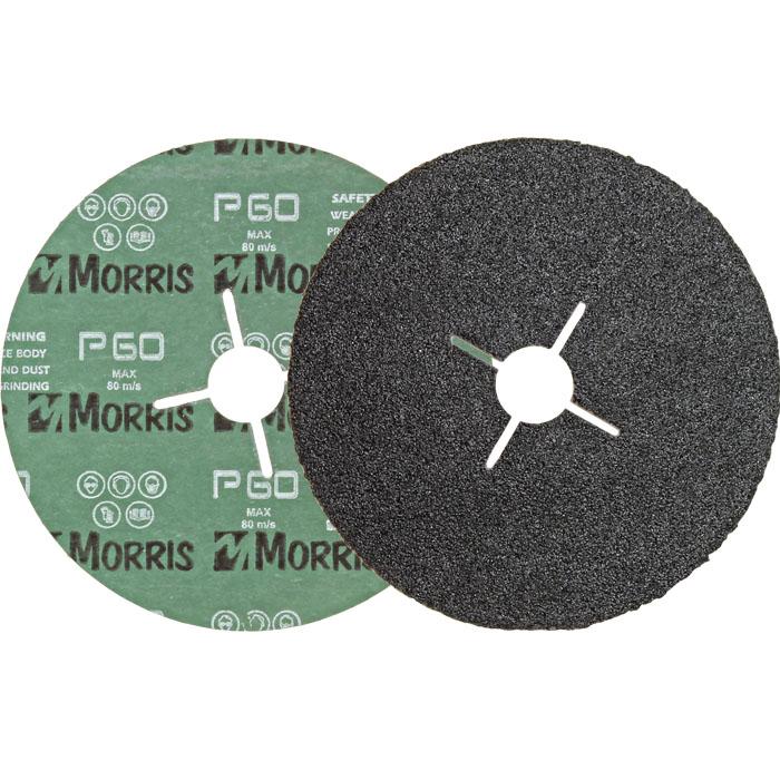 Item-0131-FIBER DISC  BLACK  180mm
