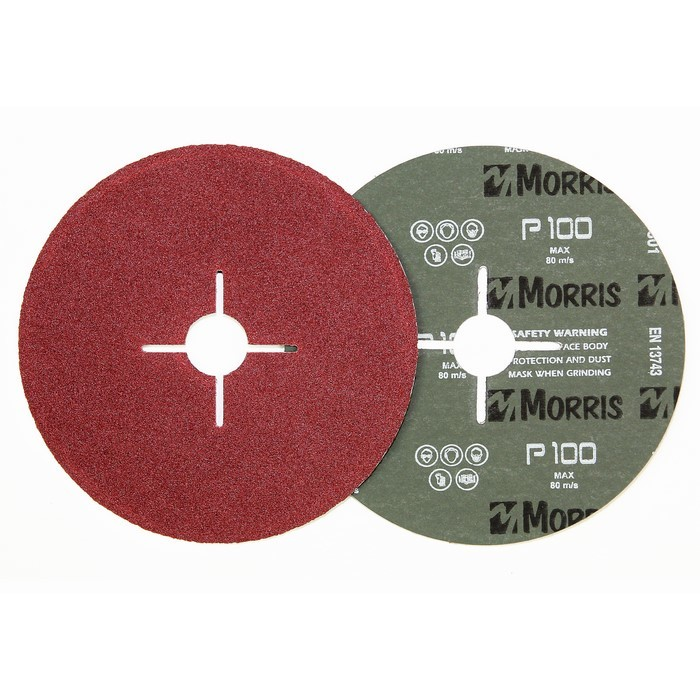 Item-3093-FIBER DISC RED 115mm