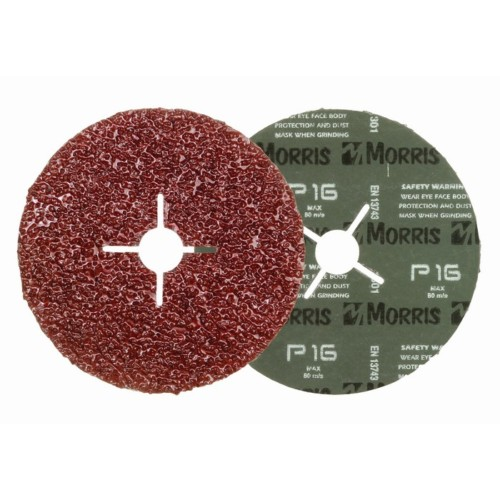 Item-3096-FIBER DISC  RED 180mm