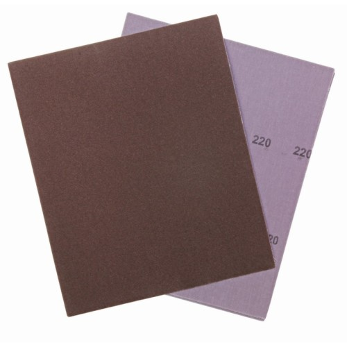 Item-3124-ABRASIVE CLOTH SHEET PROMO 23 cm x 28cm