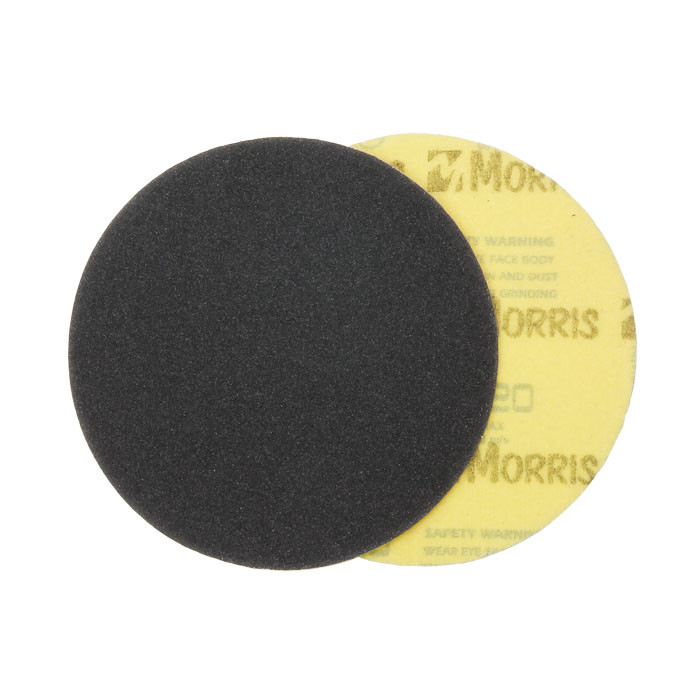 Item-3125-VELCRO DISC BLACK 115 mm ΜΟRRIS