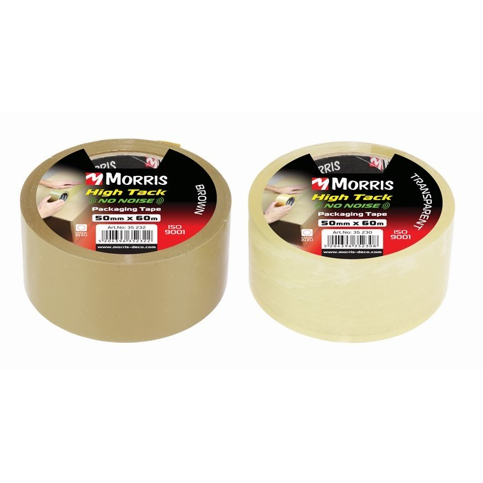 Item-3301-PACKING TAPE TRANSPARENT SILENT NO NOISE