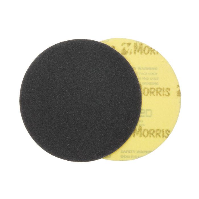 Item-3646-VELCRO DISC BLACK  125 mm ΜΟRRIS