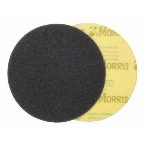 Item-3648-VELCRO DISC BLACK  225 mm ΜΟRRIS