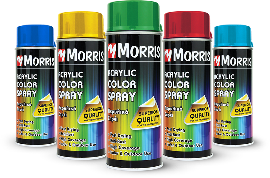 MORRIS Acrylic Color Sprays